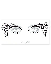 Spiderweb Face Decal