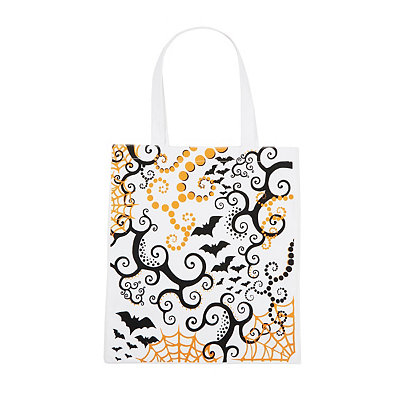 Bat Canvas Tote