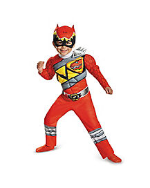 Toddler Red Ranger Costume - Power Rangers Dino Charge