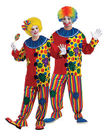 Big Top Clown Adult Mens Costume