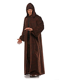 Brown Hooded Cloak