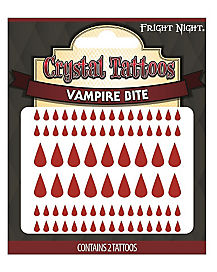 Vampire Bite Temporary Tattoos