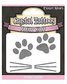 Pretty Kitty Temporary Tattoos