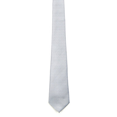 Basic Grey Mens Tie