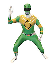Power Ranger Green Ranger Adult Mens Costume
