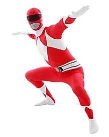 Red Power Ranger Adult Costume
