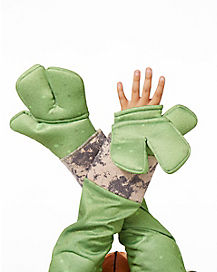 3 Finger Turtle Gloves - Teenage Mutant Ninja Turtles