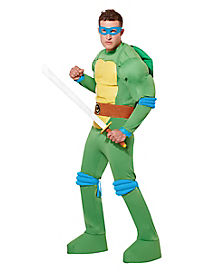 Adult Leonardo Costume Deluxe - Teenage Mutant Ninja Turtles.