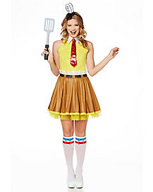 Spongebob Dress Adult Womens Costume