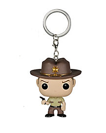 Walking Dead Rick Pop Keychain