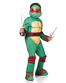 Kids Raphael One Piece Costume Deluxe - Teenage Mutant Ninja Turtles