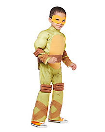 Toddler Muscle Michelangelo Costume - Teenage Mutant Ninja Turtles