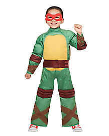 Toddler Muscle Raphael Costume - Teenage Mutant Ninja Turtles