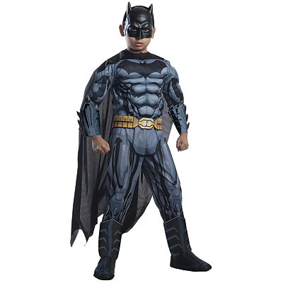 3D Grey and Black Batman Child Size Costume