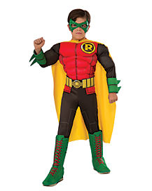 Kids 3D Robin Costume - Batman