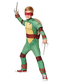 Kids Raphael One Piece Costume - Teenage Mutant Ninja Turtles