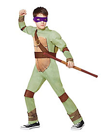 Kids Doantello One Piece Costume - Teenage Mutant Ninja Turtles