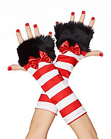 Cat in the Hat Arm Warmers - Dr Seuss