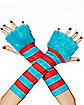 Thing Striped Arm Warmers - Dr Seuss