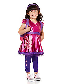 Toddler Metallic Dora Costume Deluxe- Dora and Friends
