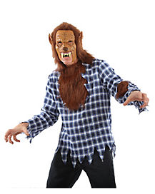 Adult Grab N Go Wolf Man Costume