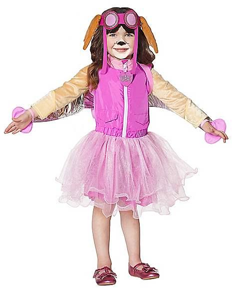 Infant and toddler girls christmas dress - Toddler Skye Costume Deluxe Paw Patrol Spirithalloween Com