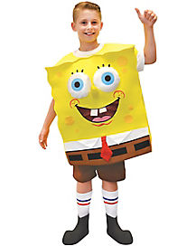Kids Foam Spongebob Costume - Spongebob Squarepants