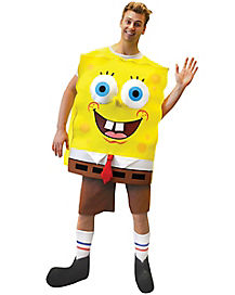 Adult Foam Spongebob Squarepants Costume - Spongebob Squarepants