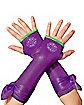 Kids Metallic Donatello Arm Warmers - Teenage Mutant Ninja Turtles