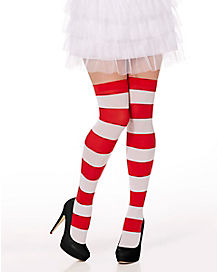 Waldo Thigh High Socks - Where's Waldo