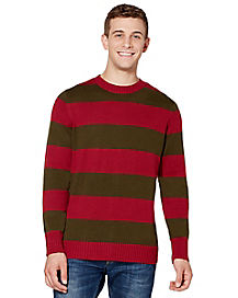 Red Green Striped Sweater