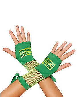 Fishnet Gloves - TMNT