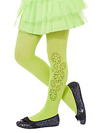 Girls Teenage Mutant Ninja Turtles Glitter Tights