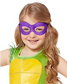 Kids Glitter Donatello Mask - Teenage Mutant Ninja Turtles
