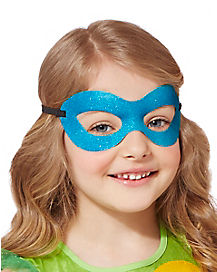 Girls TMNT Glitter Leonardo Mask