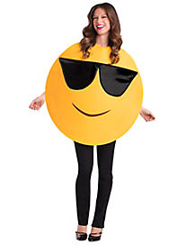 Adult Smiling Sunglasses Icon Costume