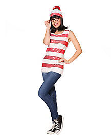 Adult Wenda Tank Costume - Where's Waldo