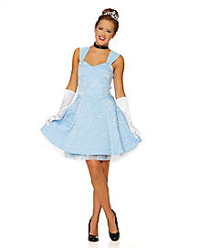 Blue Storybook Princess Dress