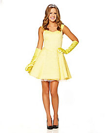 Adult Yellow Storybook Princess Dress