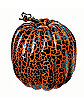 9 in Orange and Black Crackle Pumpkin