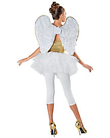 Gold Trimmed Angel Wings