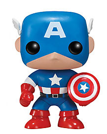 Captain America Pop Figure - Marvel