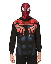 Spiderman Long Sleeve Mens Tee