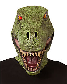 Green Dinosaur Mask