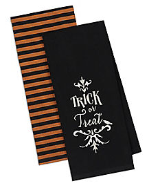 Trick or Treat Dish Towel Set