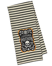Poison Embroidered Dish Towel