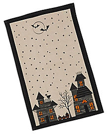 Haunted Hollow Printed Dish Towel