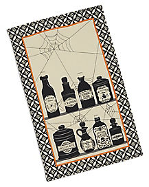 Poisons and Potions Printed Dish Towel