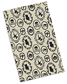 Spooky Silhouettes Printed Dish Towel