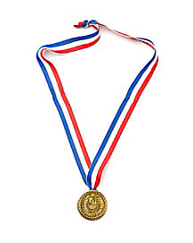 Decathlon Track Star Medal
